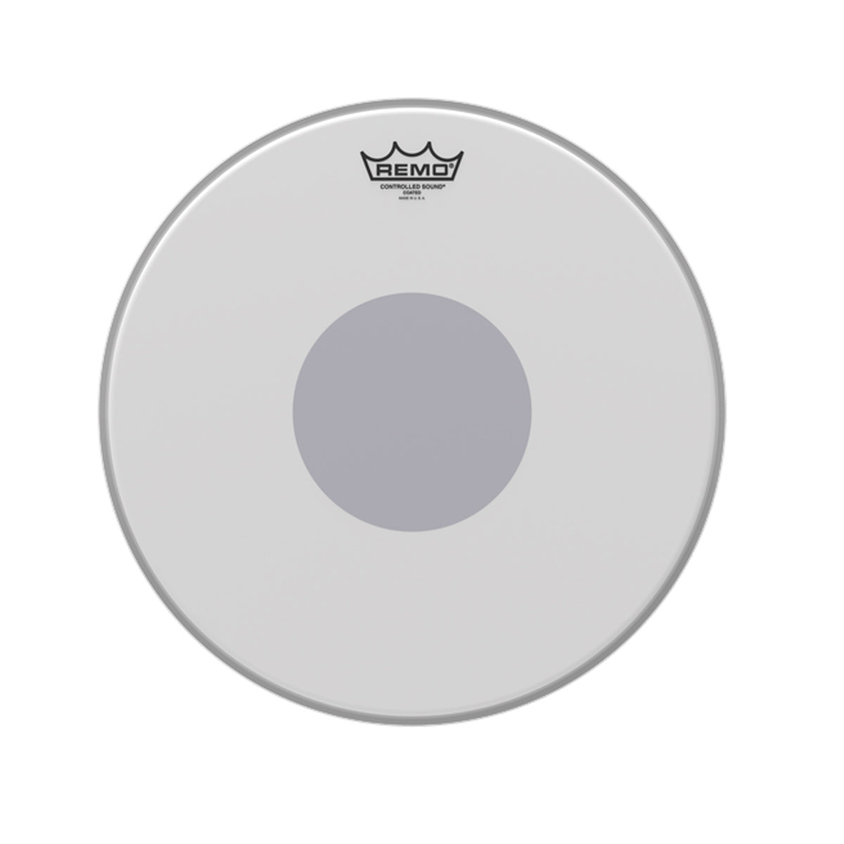 Remo CS-0115-10 Controlled Sound Drum Head Skin 15 inch Coated 15'' w/ Dot