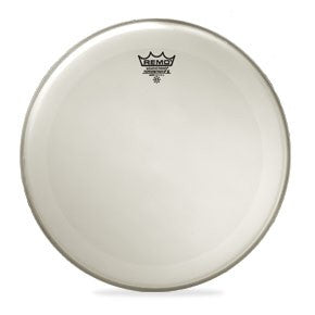 Remo PX-0114-C2 Powerstroke X Drum Head Skin 14 Inch Coated 14'' with Clear Top Dot