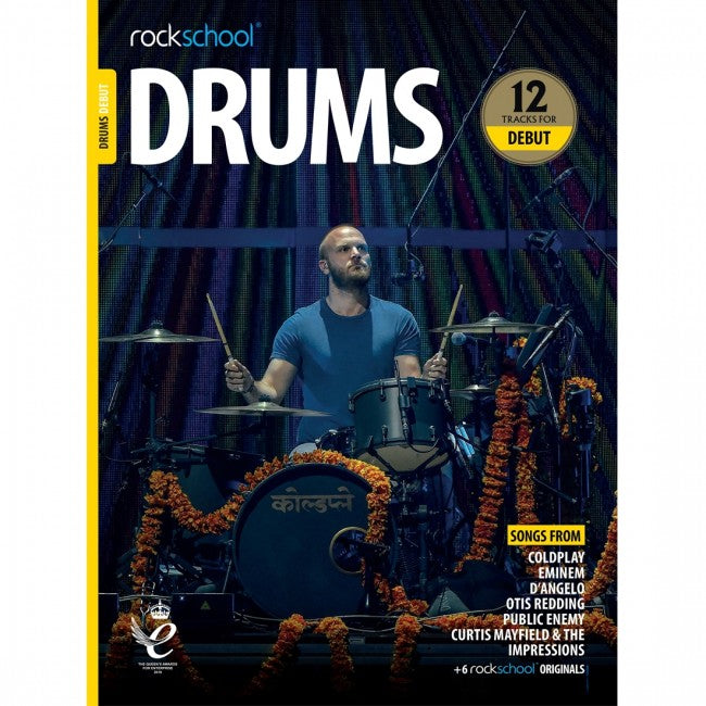 ROCKSCHOOL Drums Debut 2018-2024 Book