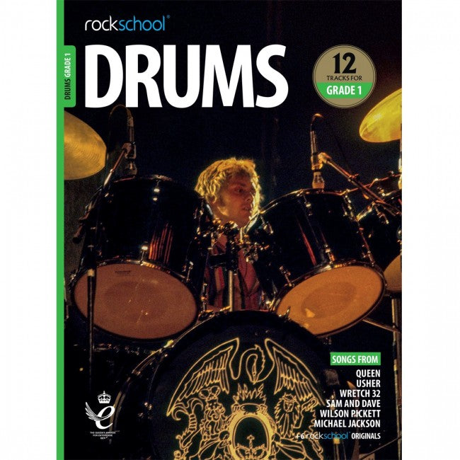 ROCKSCHOOL Drums Grade 1 2018-2024 Book