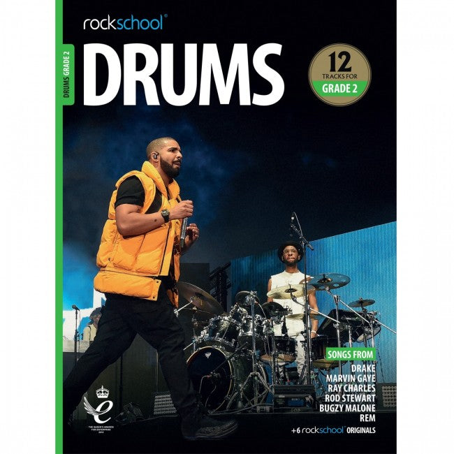 ROCKSCHOOL Drums Grade 2 2018-2024 Book