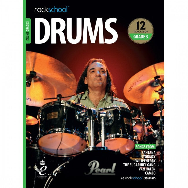ROCKSCHOOL Drums Grade 3 2018-2024 Book