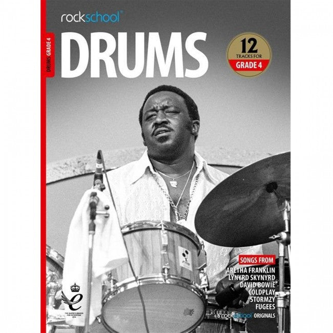 ROCKSCHOOL Drums Grade 4 2018-2024 Book
