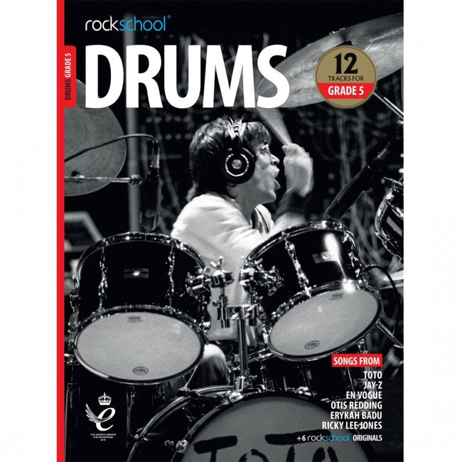 ROCKSCHOOL Drums Grade 5 2018-2024 Book