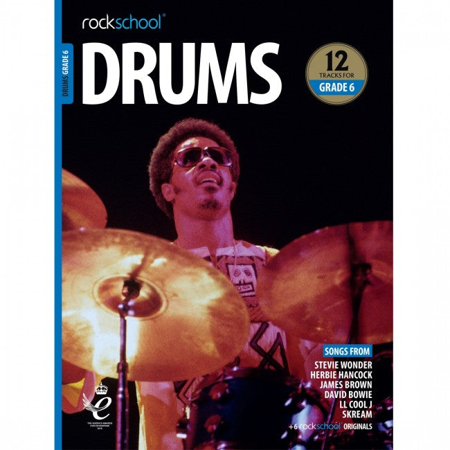 ROCKSCHOOL Drums Grade 6 2018-2024 Book