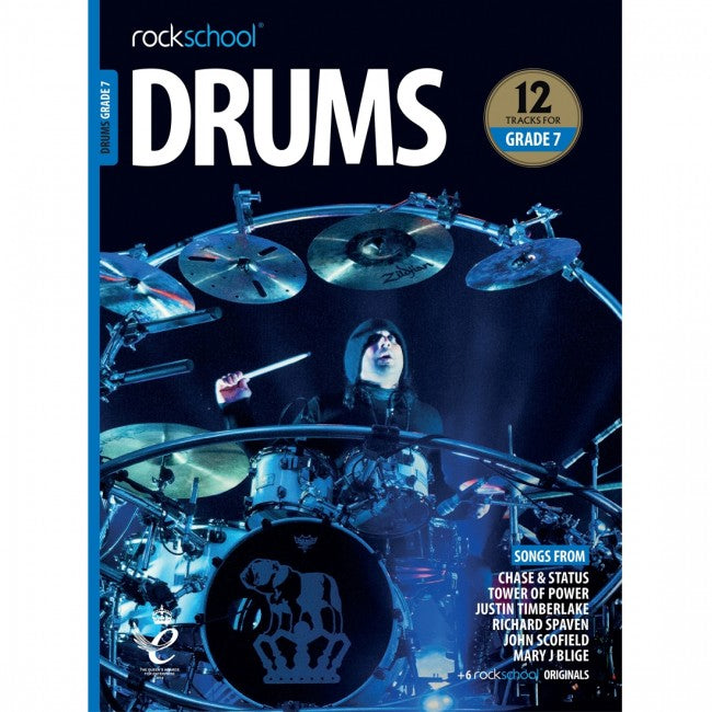 ROCKSCHOOL Drums Grade 7 2018-2024 Book