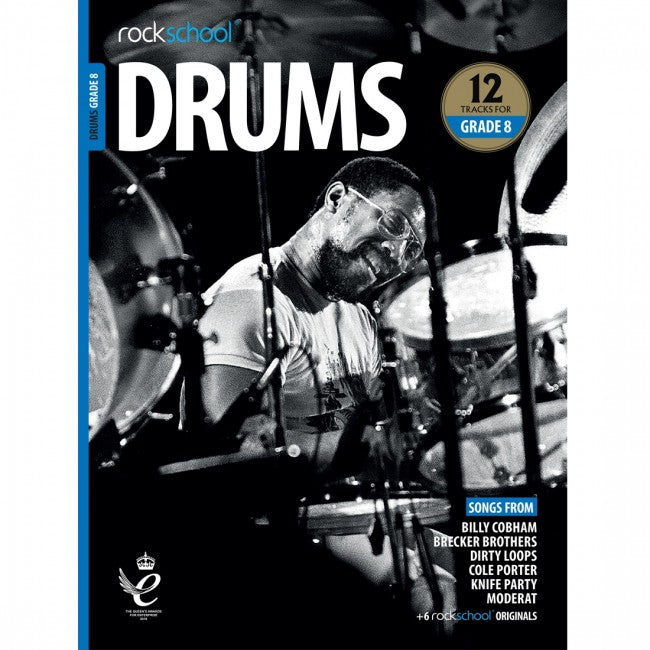 ROCKSCHOOL Drums Grade 8 2018-2024 Book