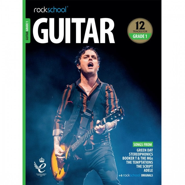 ROCKSCHOOL Guitar Grade 1 - 2018-2024 Book