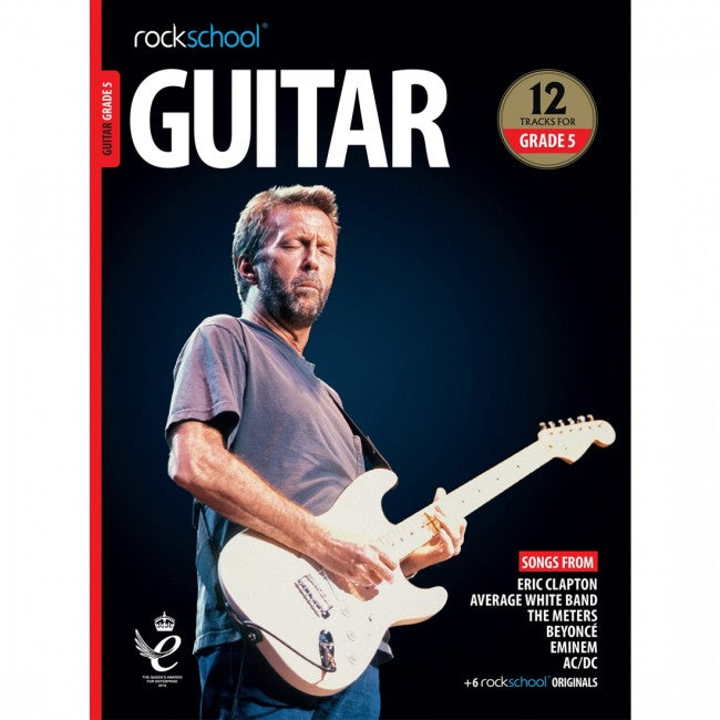ROCKSCHOOL Guitar Grade 5 - 2018-2024 Book