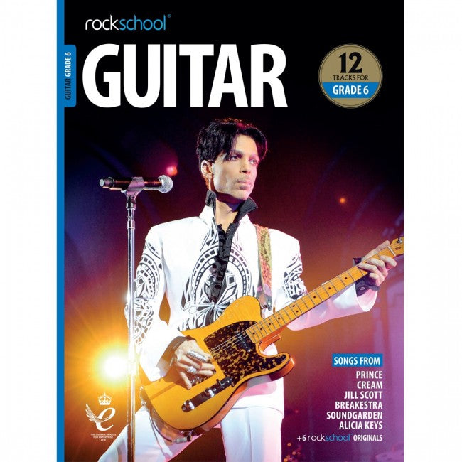 ROCKSCHOOL Guitar Grade 6 - 2018-2024 Book