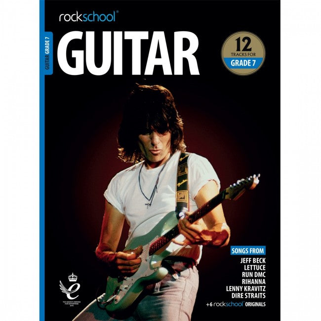 ROCKSCHOOL Guitar Grade 7 - 2018-2024 Book