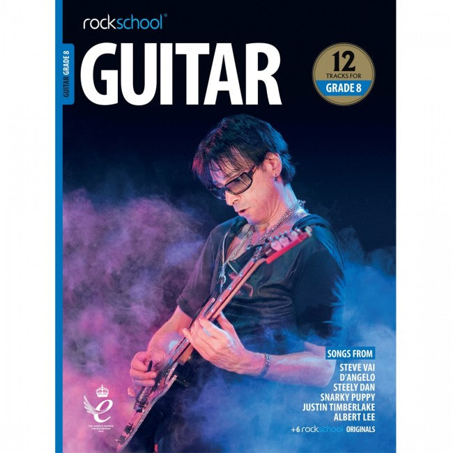 ROCKSCHOOL Guitar Grade 8 - 2018-2024 Book