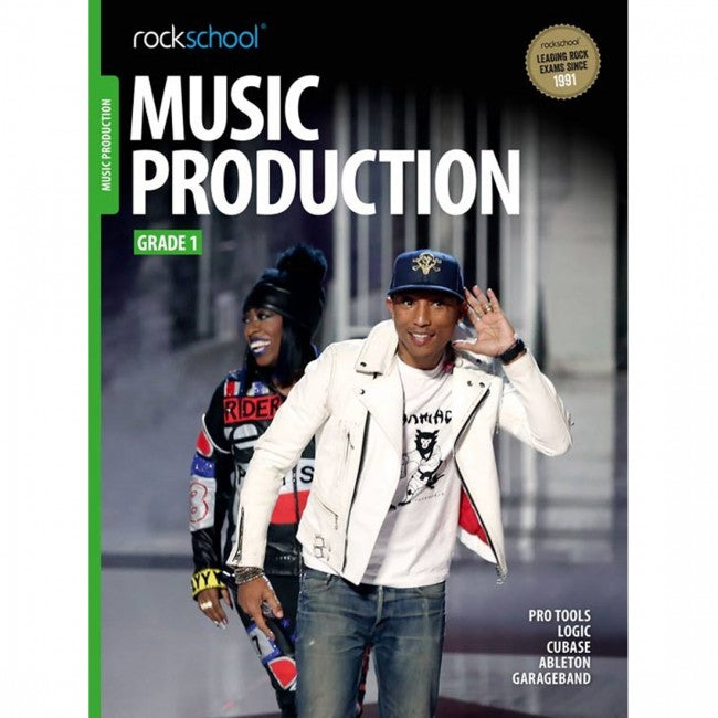 ROCKSCHOOL Music Production Grade 1 2018 Book