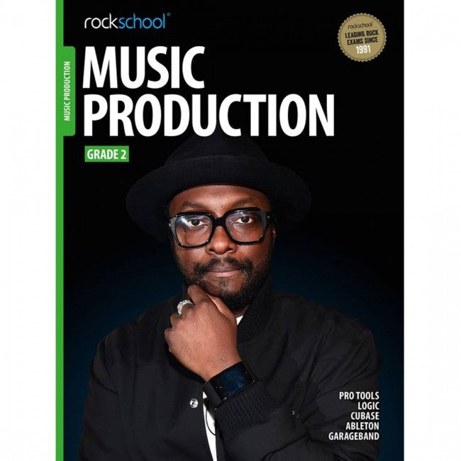 ROCKSCHOOL Music Production Grade 2 2018 Book