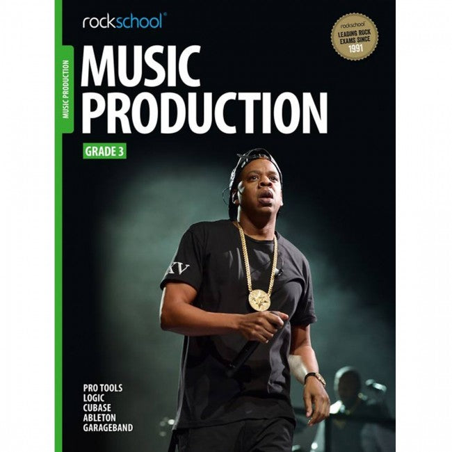 ROCKSCHOOL Music Production Grade 3 2018 Book
