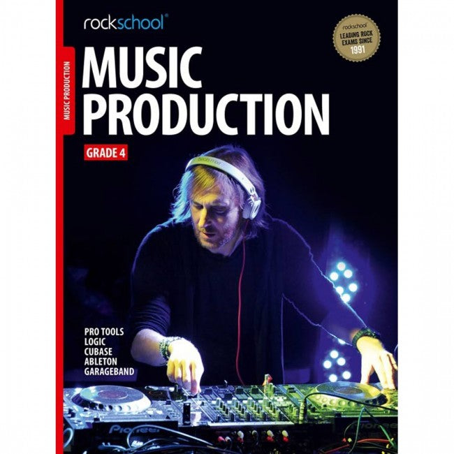 ROCKSCHOOL Music Production Grade 4 2018 Book