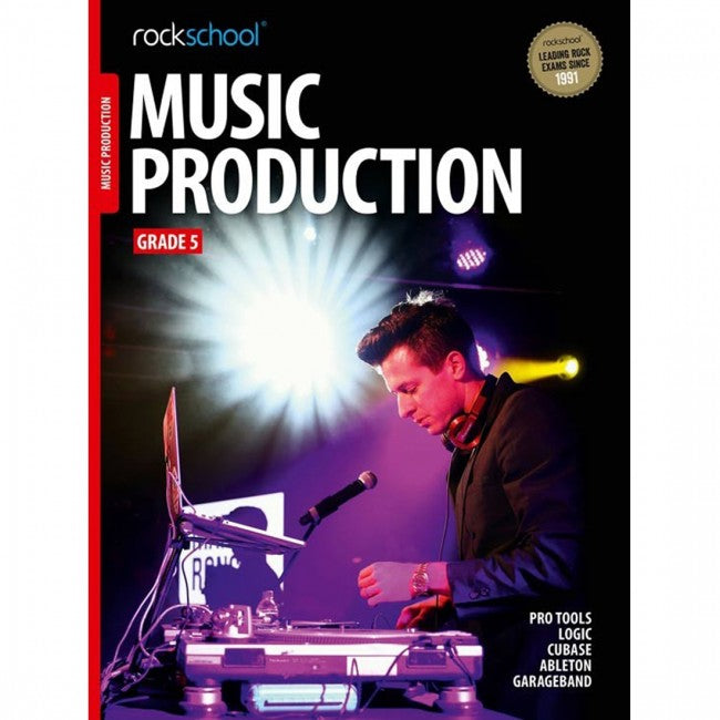 ROCKSCHOOL Music Production Grade 5 2018 Book
