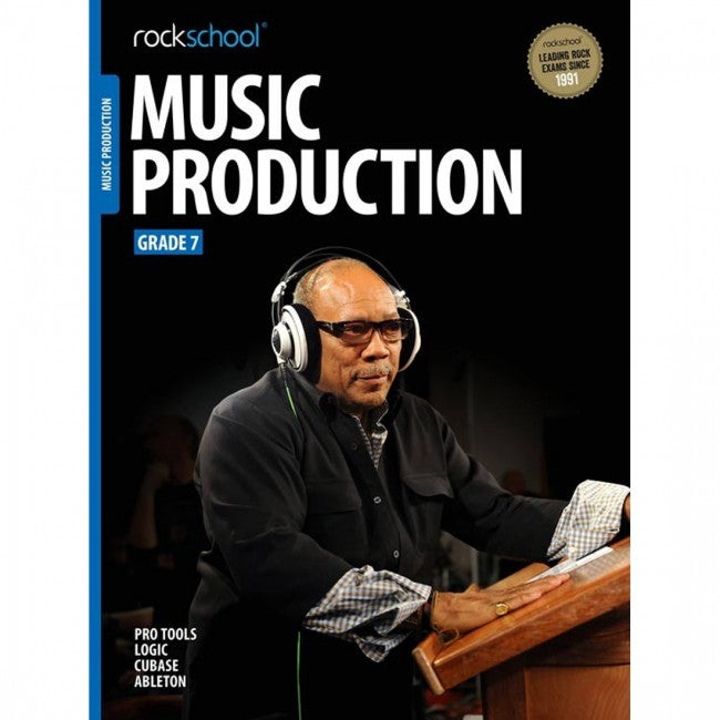 ROCKSCHOOL Music Production Grade 7 2018 Book