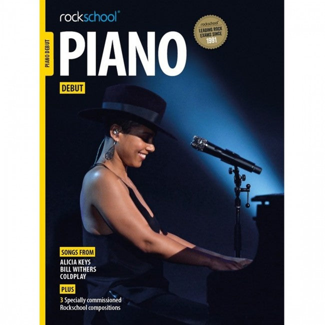 ROCKSCHOOL PIANO Debut 2015-2019 Book