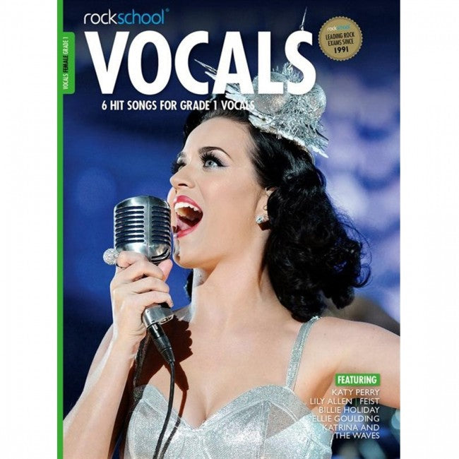 ROCKSCHOOL Vocals Grade 1 Female 2014-2020 Book
