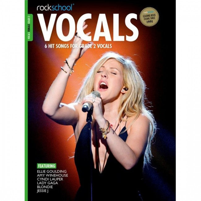 OCKSCHOOL Vocals Grade 2 Female 2014-2020 Book