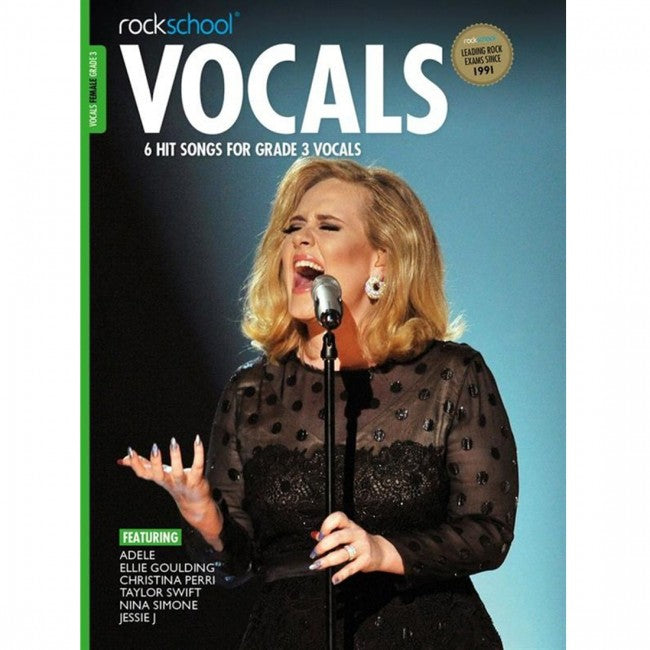 ROCKSCHOOL Vocals Grade 3 Female 2014-2020 Book