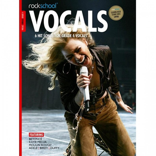 ROCKSCHOOL Vocals Grade 4 Female 2014-2020 Book