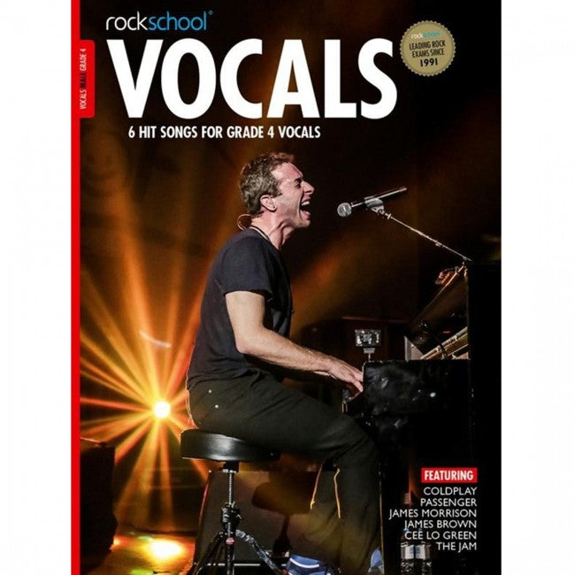 ROCKSCHOOL Vocals Grade 4 Male 2014-2020 Book