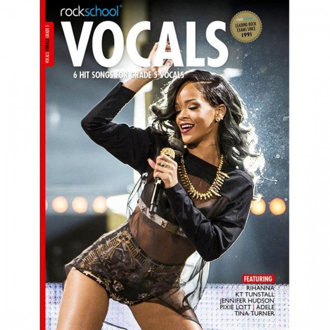 ROCKSCHOOL Vocals Grade 5 Female 2014-2020 Book