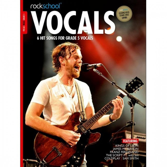 ROCKSCHOOL Vocals Grade 5 Male 2014-2020 Book