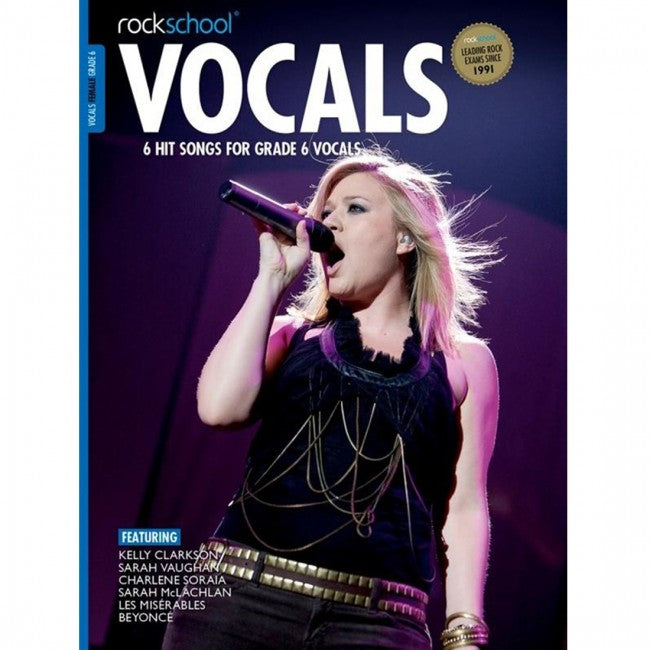 ROCKSCHOOL Vocals Grade 6 Female 2014-2020 Book