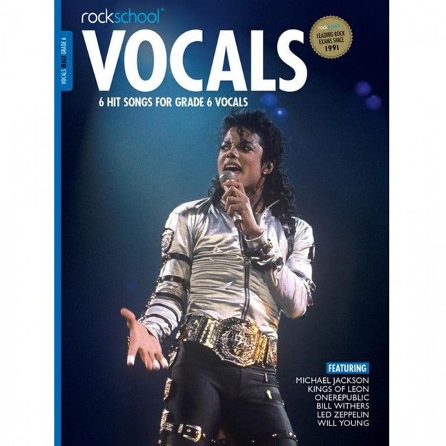 ROCKSCHOOL Vocals Grade 6 Male 2014-2020 Book