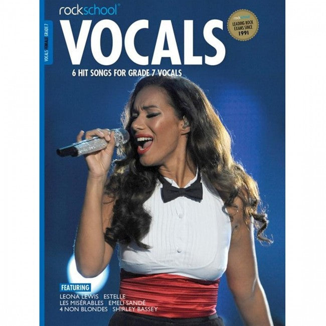 ROCKSCHOOL Vocals Grade 7 Female 2014-2020 Book