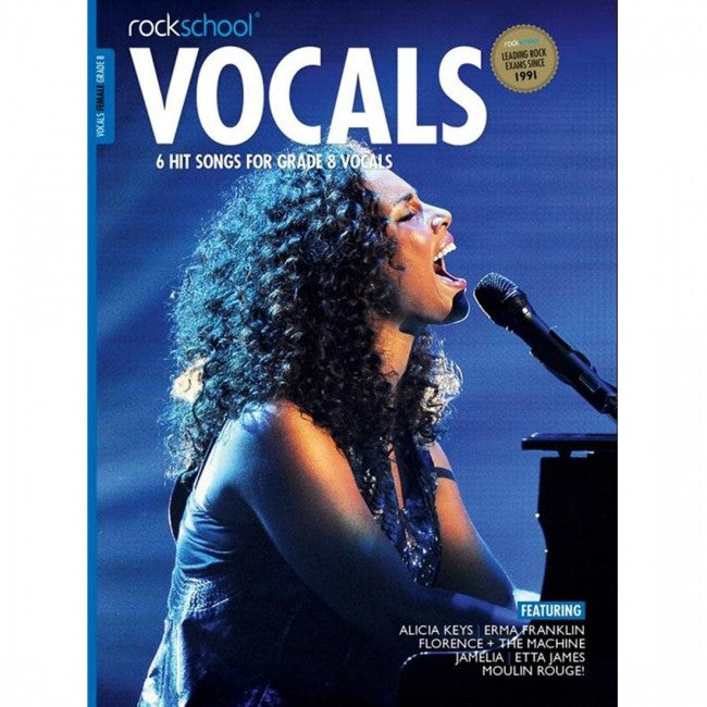 ROCKSCHOOL Vocals Grade 8 Female 2014-2020 Book