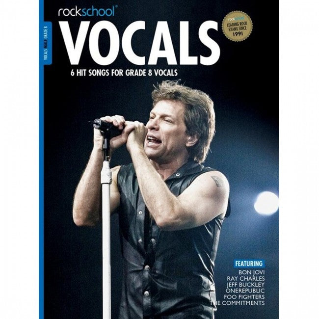 ROCKSCHOOL Vocals Grade 8 Male 2014-2020 Book