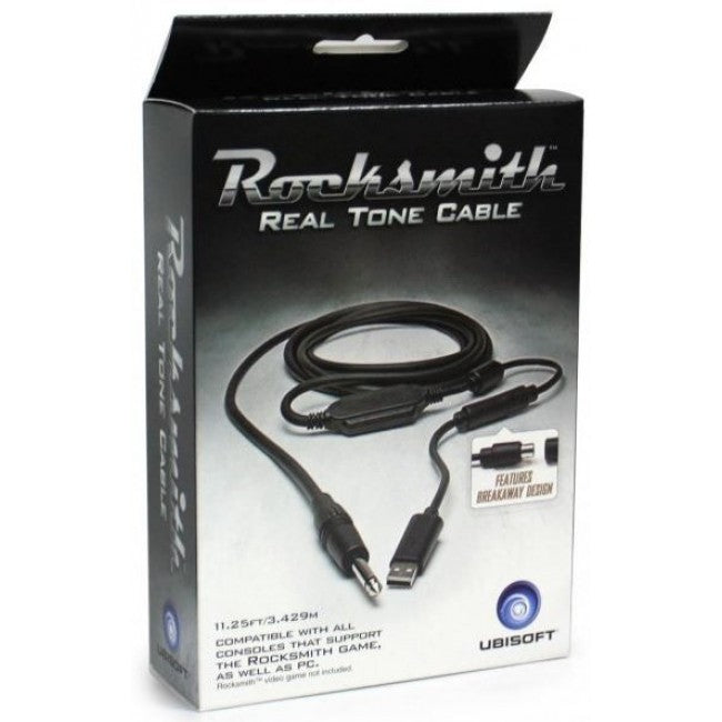 Rocksmith Real Tone Cable - for Playstation / XBOX / PC - Learn to Play Guitar & Bass