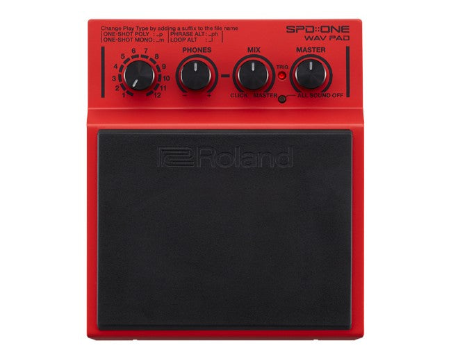 Roland SPD::ONE Wav Pad Percussion Pad