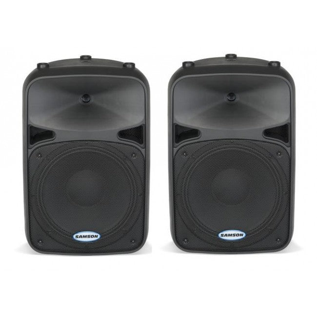 2 x Samson AURO D12 Passive Speakers