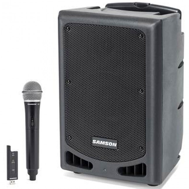 Samson XP208W Portable PA with Bluetooth and Dual Wireless Ready Speaker