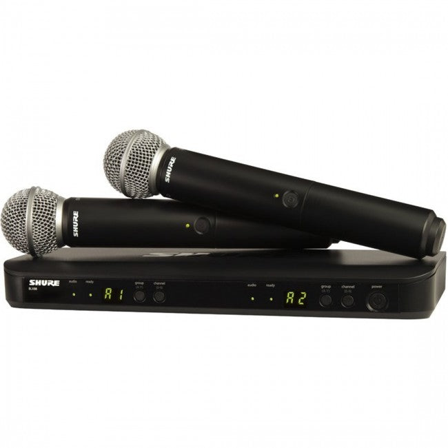 Shure BLX288S58M17 Dual Handheld System