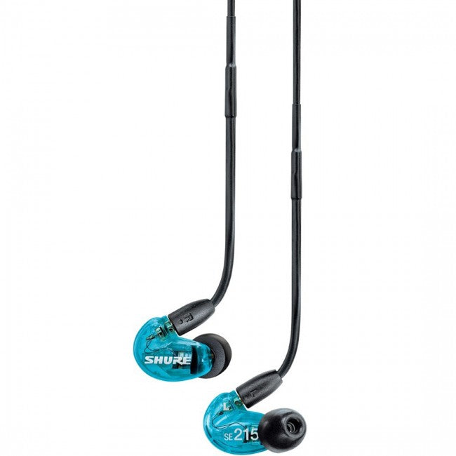 Shure SE215 Earphones Blue