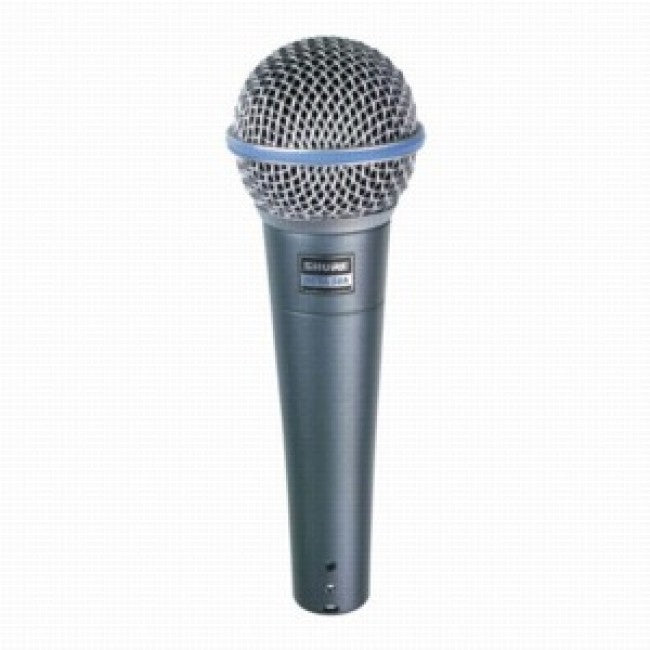 Shure Beta 58A Microphone Vocal Wired Hand Held Mic