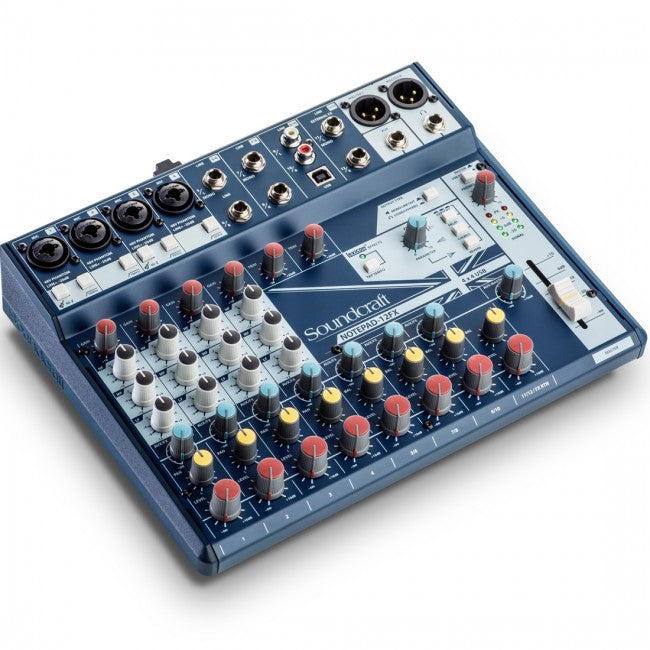 Soundcraft Notepad 12FX USB Mixer