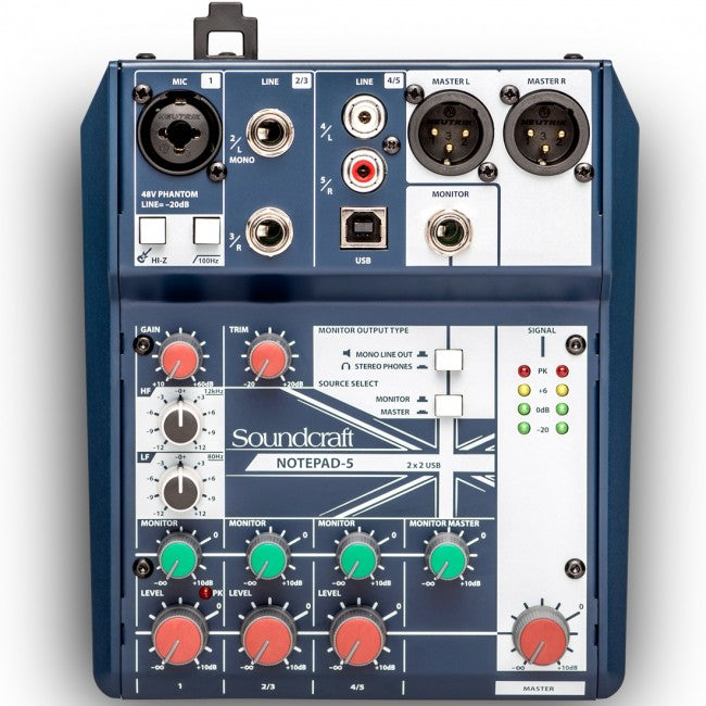 Soundcraft Notepad 5 Mixer