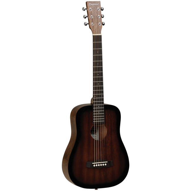 Tanglewood TWCRT Crossroads Acoustic Guitar Traveller Whiskey Barrel Burst Satin