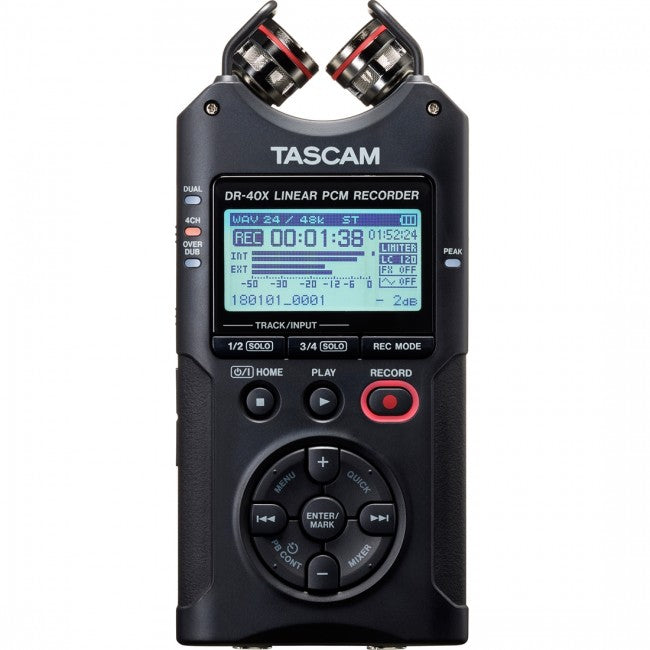 Tascam DR-40X Four Track Recorder