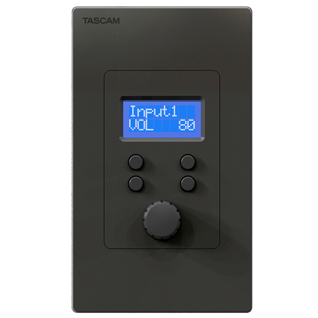 Tascam RC-W100-R120 Wall Mount Controllers for Tascam MX-8A