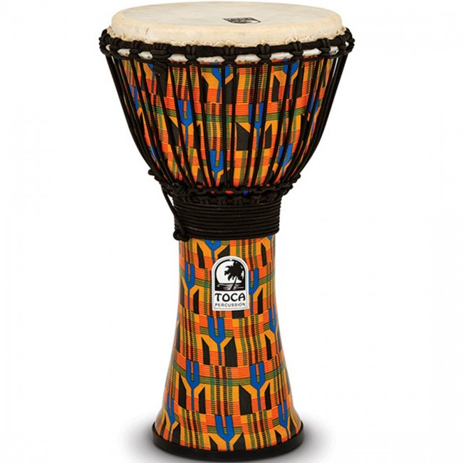 "Toca Freestyle 10"" Djembe Kente"