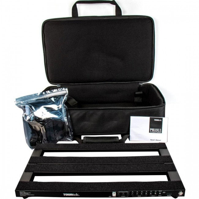 TourTek PB1911 Rechargeable Pedalboard with Case