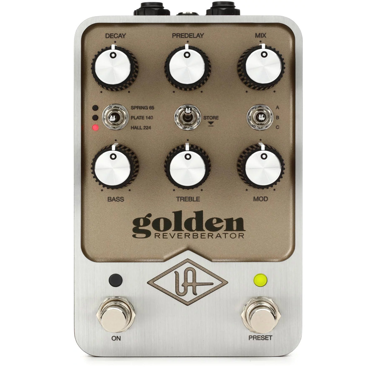Universal Audio UA Golden Reverberator Reverb Effects Pedal